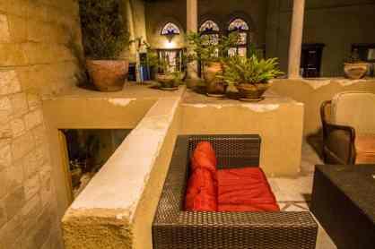 Common area couches at Fauzi Azar