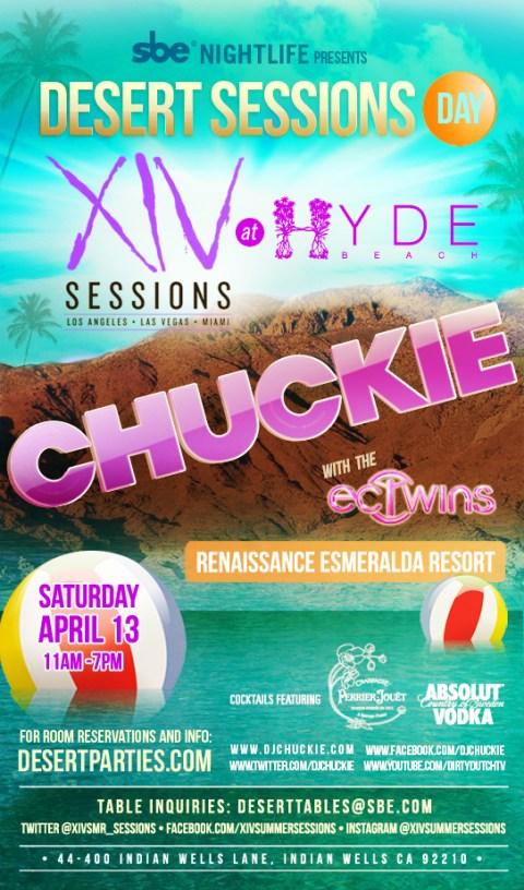 chuckie pool party coachella 2013