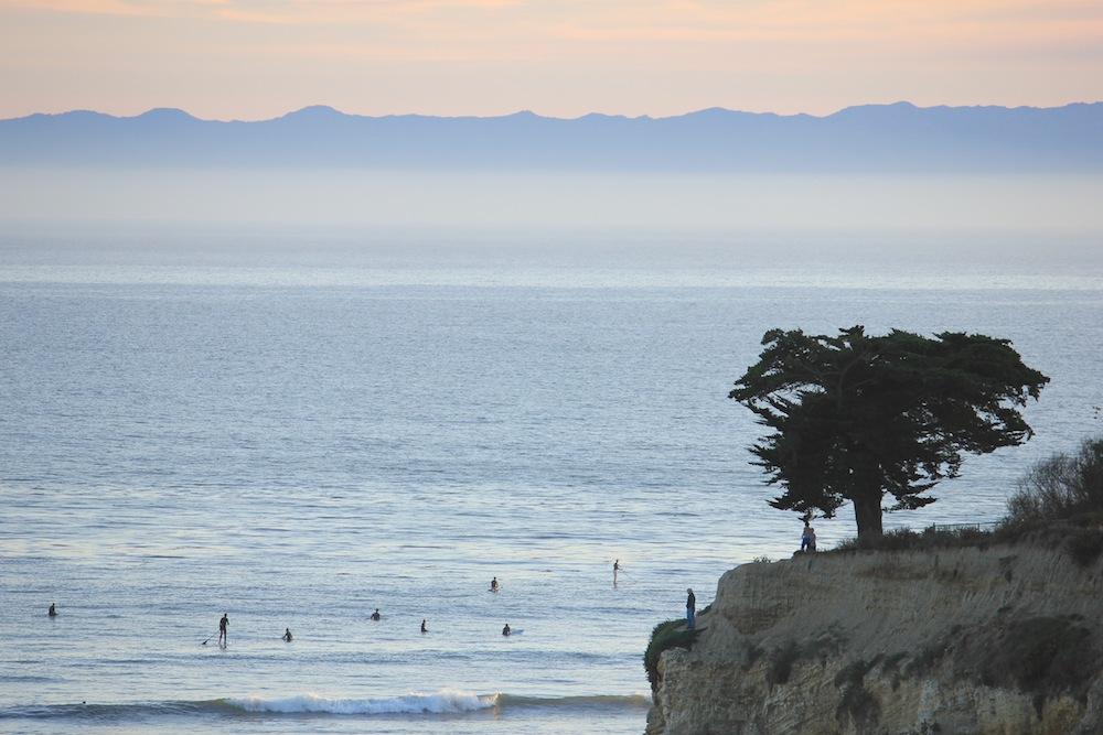 Surfing Leadbetter Point Santa Barbara Surf Spots