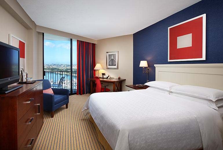 Sheraton San Diego Hotel And Marina On Sale For 111 The
