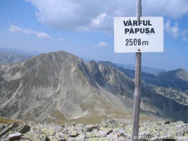 Papusa peak - Retezat mountains