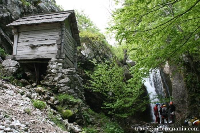 canyoning in Romania - Herculane area