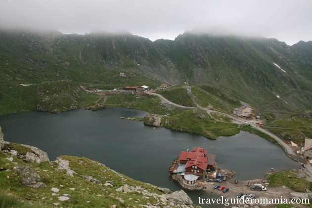 Balea lake - Fagaras mountains