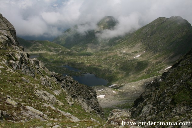 Podragu lake in Fagaras mountains