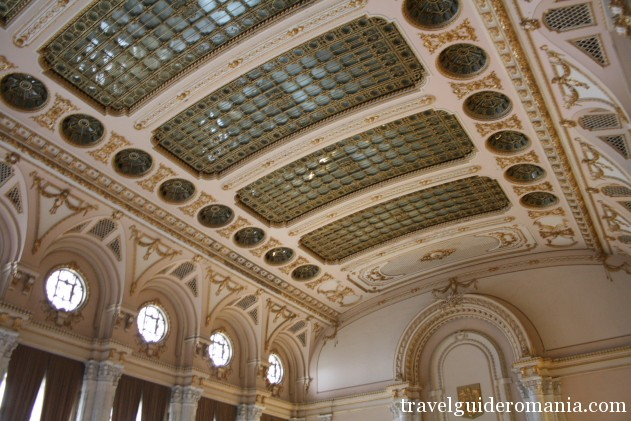 ceiling of the Alexandru Ioan Cuza room