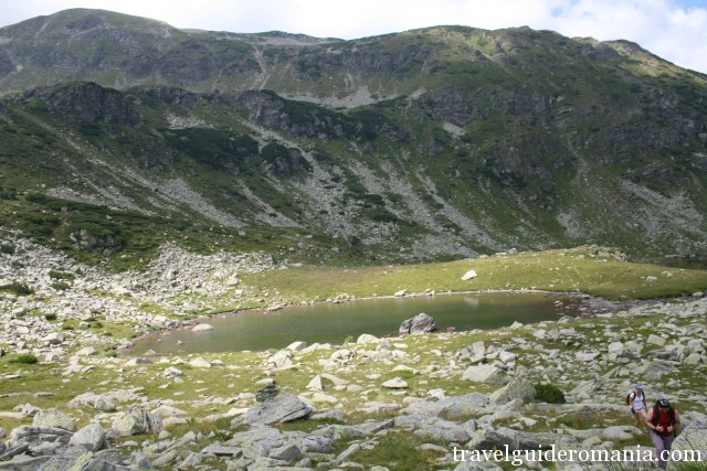 Zanoaga Stanei Lake - Parang montains
