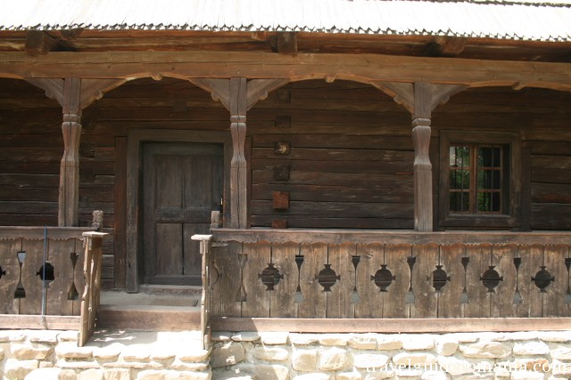 traditional architecture in Transilvania area