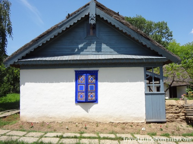 traditional house in Tulcea area