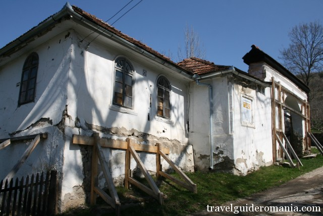 German school at Rosia Montana dating from 1850