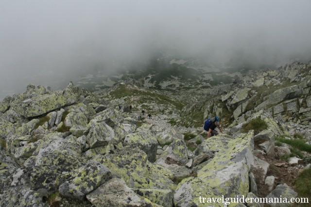 Trail to Retezat Peak - Retezat National Park