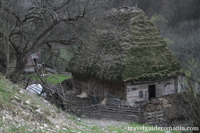 traditional way of living in Apuseni mountains - house near Rosia Montana