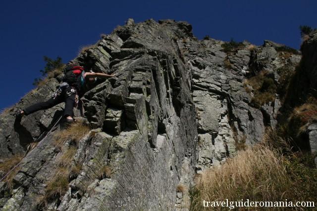 Climbing in Apuseni Nature Park
