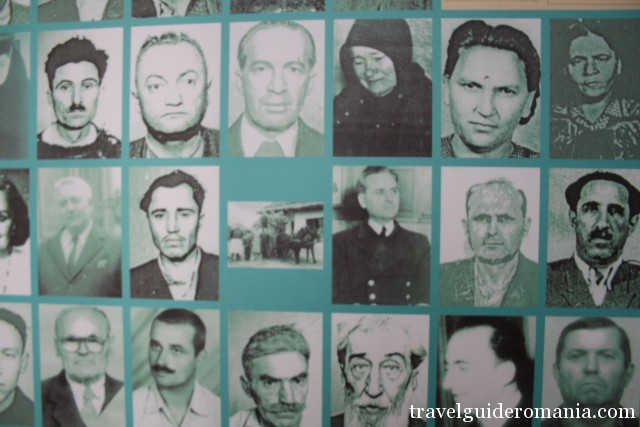 portraits of the political prisoners from Sighet Prison