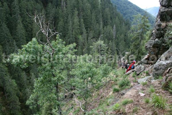 Trekking in Apuseni mountains - Bohodei waterfall track