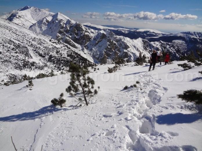 Drumetie de iarna in Muntii Retezatul Mic