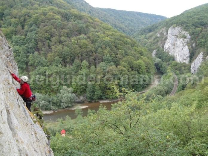 Alpinism in Defileul Crisului Repede