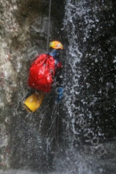 Canyoning in Muntii Bihor - canionul Cheia Rea