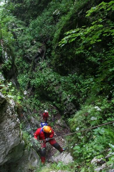 Verticala 6 - Canionul Cheia Rea - Romania