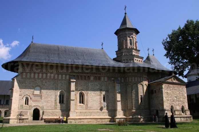 Biserica Manastirii Neamț construita de Stefan cel Mare