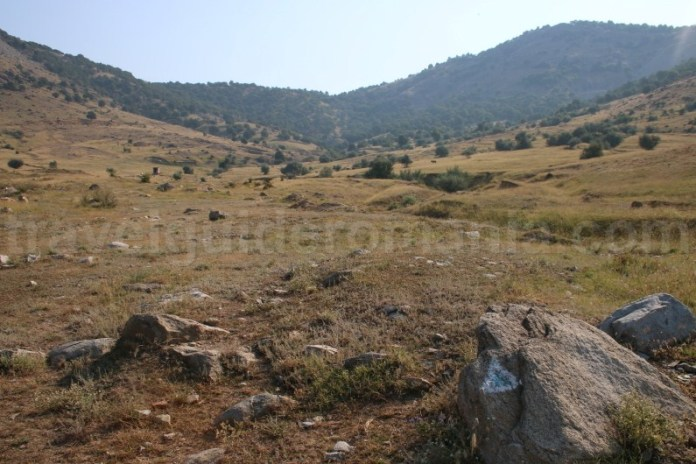 Valea Morsu - cale de acces spre varful Tutuiatul