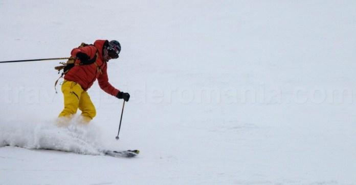 Schi in Statiunea Straja - Romania