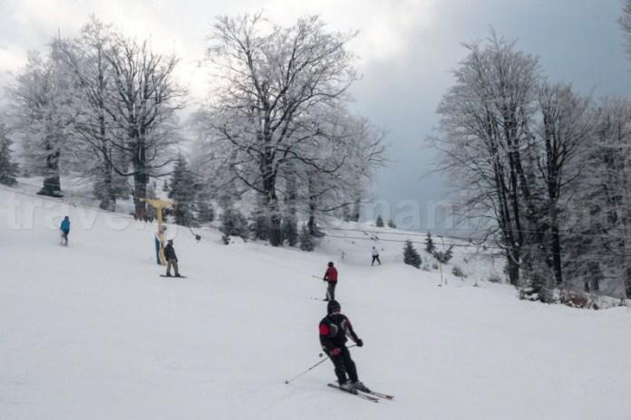 Sporturi de iarna in Romania - Statiunea Straja