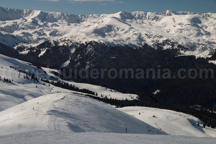 Creasta principală a munților Parâng - Carpatii Meridionali