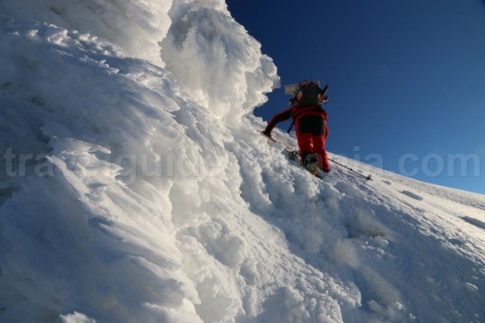 Schi - alpinism in Muntii Parang - Romania