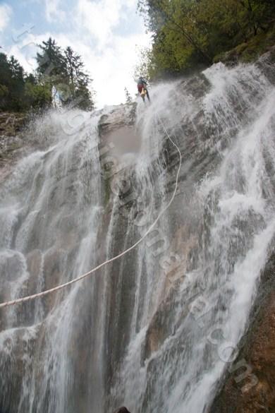 Canioane impresionante din Romania - Cascada Cailor