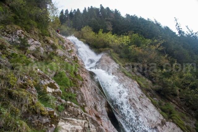 Canionul Cailor - Parcul National Muntii Rodnei - zona statiunii Borsa