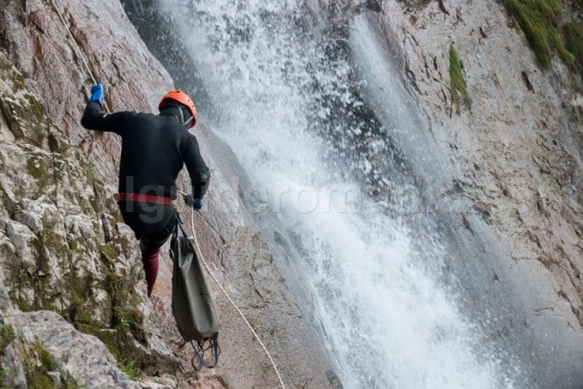 Canyoning in Romania - Canionul Cailor