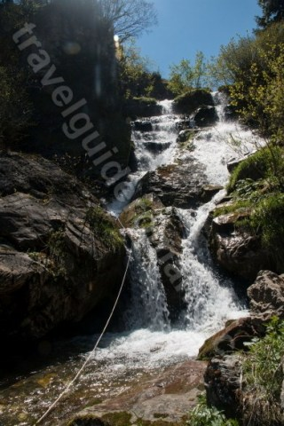 Cascada doi din Canionul Cailor - Canyoning Romania
