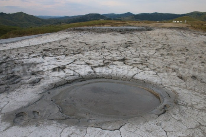 The mud volcanoes in the Buzau Sub Carpathians