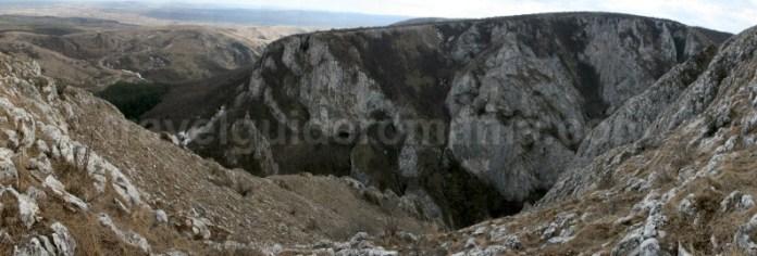 Panorama Cheile Turzii - Muntii Trascau