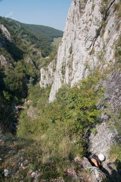 Parcurgerea traseului de via ferrata din Cheile Turzii - Cluj