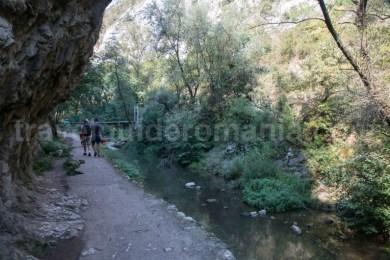 Poteca turistica in Cheile Turzii - Romania
