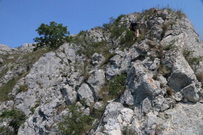Retragerea din traseul de via ferrata din Cheile Turzii - Muntii Apuseni
