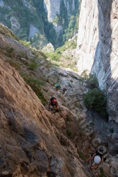 Trasee din via ferrata din Muntii Apuseni - Cheile Turzii