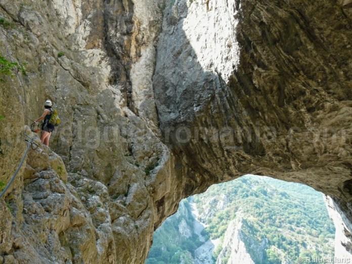Via ferrata in Cheile Turzii - Muntii Trascau