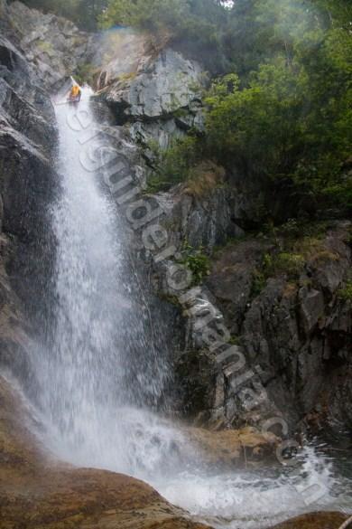 Cascade din Romania - Valea Marii - Muntii Retezat