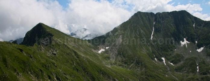 Cel mai inalt varf din Romania - varful Moldoveanu - Muntii Fagaras