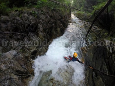Coborare pe Canionul Valea Marii - Muntii Retezat - Romania