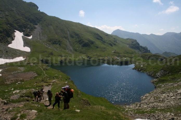 Locuri de campare in Muntii Fagaras - Lacul Capra