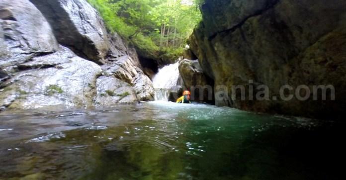 Sector amonte - canion Valea Marii