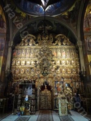 Altarul bisericii Putna - Monumente din Bucovina