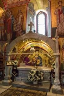 Mormantul domnitorului Stefan cel mare - Mare - Manastirea Putna