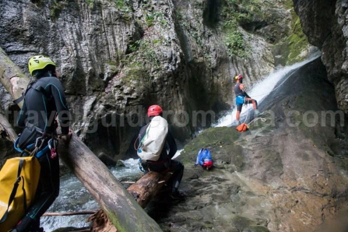 Canyoning pe Valea Galbenei - Muntii Apuseni - Romania