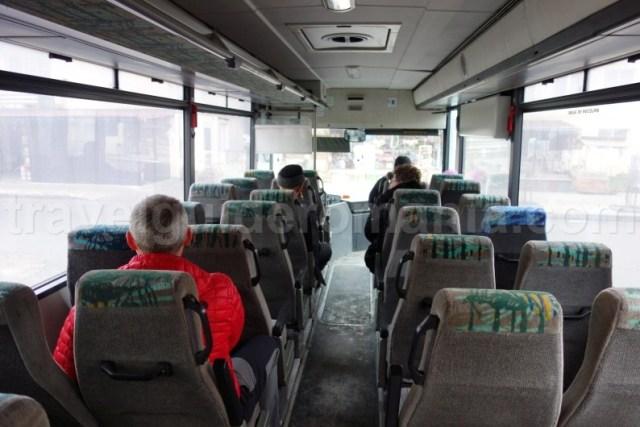 Intrare la vizita cu autobuzul in salina Praid - Harghita