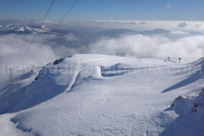 Partii de schi de pe Valea Prahovei - Domeniul schiabil Sinaia