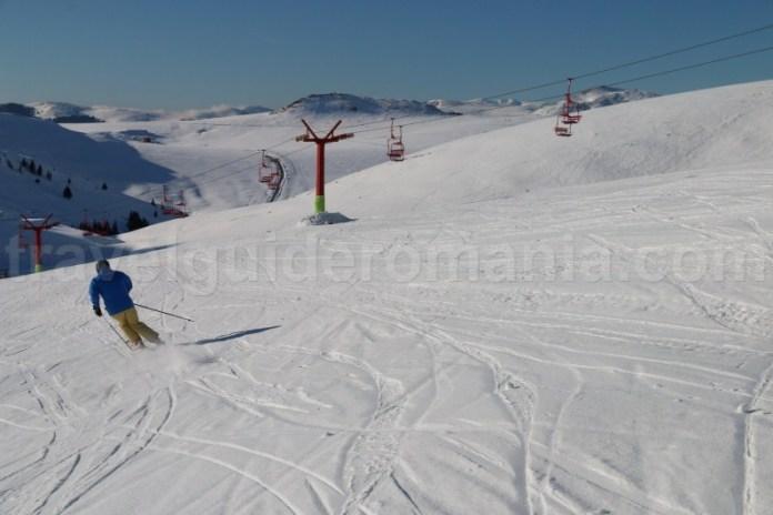 Schi in Muntii Bucegi - Sinaia - Valea Prahovei
